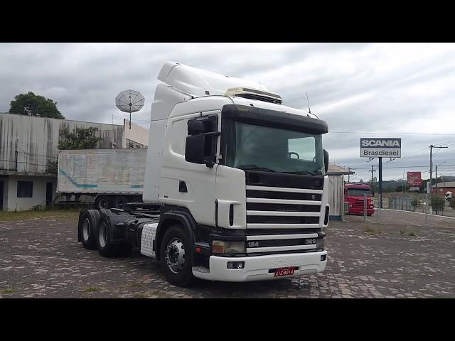 Vídeo do caminhão R124 360 6x2