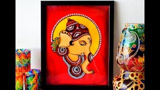 KERALA MURAL GLASS PAINTING