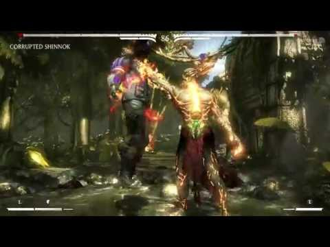 Anyone unlocked corrupted shinnok? :: Mortal Kombat X