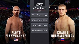 ФЛОЙД МЕЙВЕЗЕР vs ХАБИБ НУРМАГОМЕДОВ в UFC
