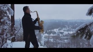 Chris Rea - Driving Home For Christmas [Saxophone Cover] by Juozas Kuraitis
