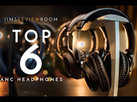 Top 6 BEST ACTIVE Noise Cancelling Headphones – 2018