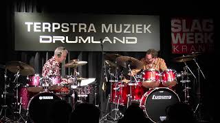 Maximum Coverband Drumming clinic Drumland Terpstra