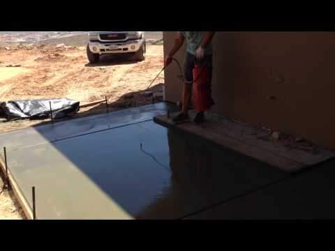 How to prep concrete for exposed aggregate finish