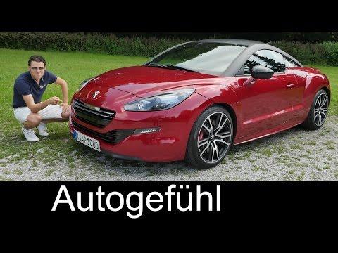 Peugeot RCZ-R FULL REVIEW test driven 270 hp 2016 - Autogefühl