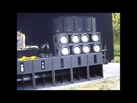 Extreme Bass PA Anlage