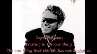 Depeche Mode -  Damaged People with Lyrics