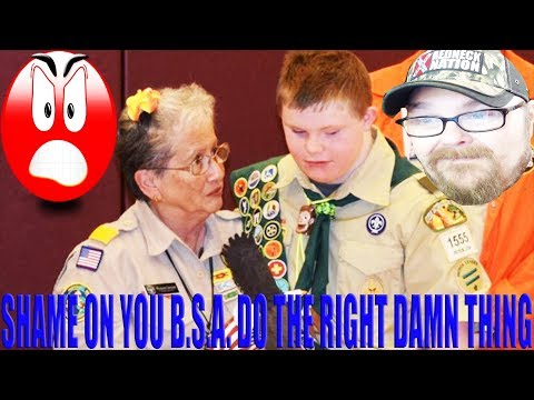 Boy Scouts Voids Badges of Teen With Down Syndrome  #RHEC