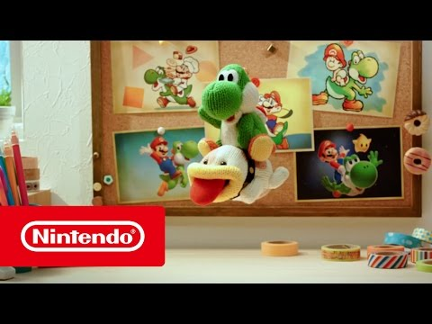 Видео № 0 из игры Poochy & Yoshi's Woolly World - Limited Edition [3DS]