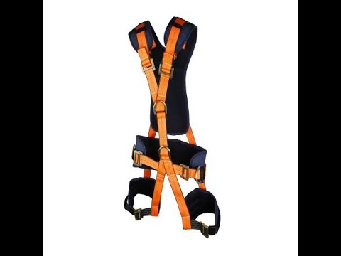 Metro Full Body Harness-1056 For Window Cleaning Painting Building Repairing Spider Kit