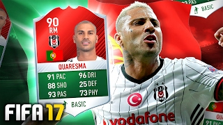 TOTS 90 QUARESMA PLAYER REVIEW! - FIFA 17 Ultimate Team