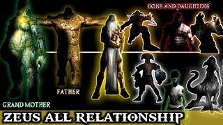 ZEUS All Relationship | Zeus Family Tree