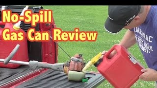 No-Spill Gas Can Review