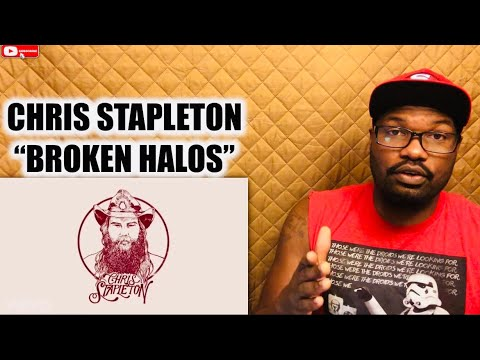 "CHRIS STAPLETON ""BROKEN HALOS"" 