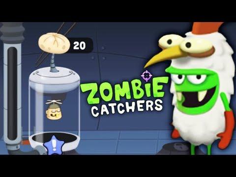 ОХОТА на ЗОМБИ! ПЕЛЬМЕШКИ из ВОРИШКИ Детский летсплей по мультяшной игре Zombie Catchers