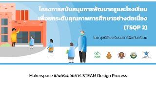 Module 2 - Makerspace และกระบวนการ STEAM Design Process