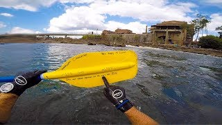 Found SECRET MESSAGE on Paddle In RIVER!! (river treasure)