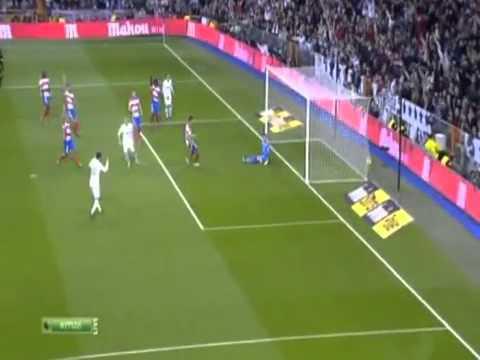 Karim Benzema Goal Vs Granada ( Brillant Assists By Özil & Ronaldo ) 1-0