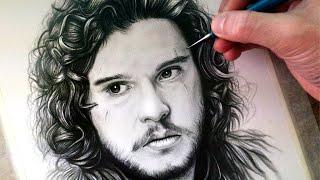 Drawing Jon Snow - Game Of Thrones - FAN ART FRIDAY