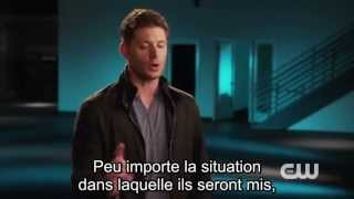 Supernatural - Jensen Ackles Interview saison 9 VOSTFR