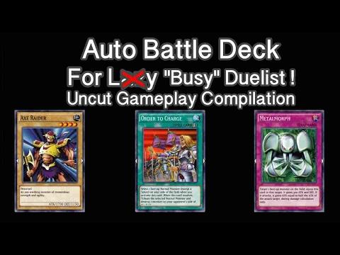 YuGiOh Duel Links Best Deck - Auto Duel Beatdown D | Youtube
