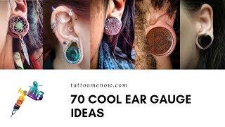70 Cool Ear Gauge Piercing Ideas