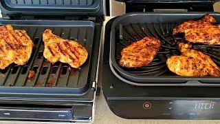 2020 George Foreman Grill vs Ninja Foodi Grill XL Chicken Breast