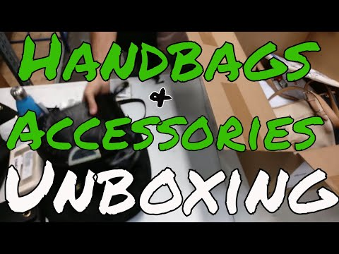 UNBOXING: HE Branded Handbag & Accessory Lots