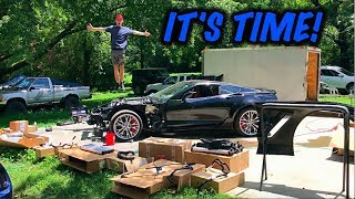 Rebuilding A Wrecked 2017 Corvette Z06 Part 8