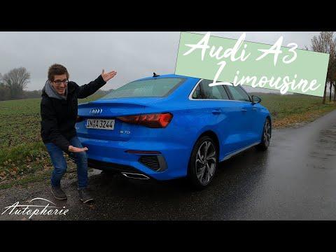2021 Audi A3 Limousine S line 35 TDI S tronic (150 PS / 360 Nm) Test [4K] - Autophorie