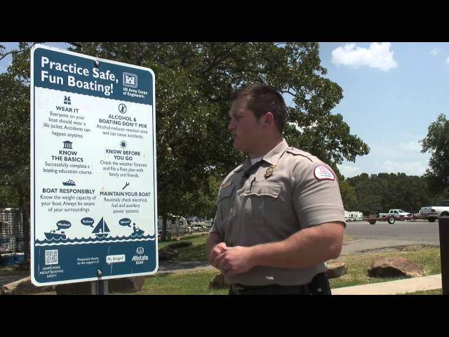 Boating Safety Tips from the U.S. Army Corps of Engineers, Tulsa District