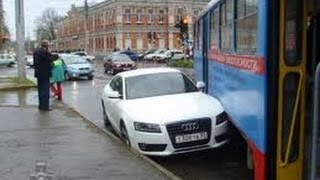 Аварии и Драки на дорогах 2013 Russian road rage and crash compilations 18+