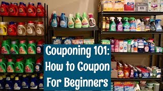 How to Start Couponing for Beginners in 2019 | Couponing 101