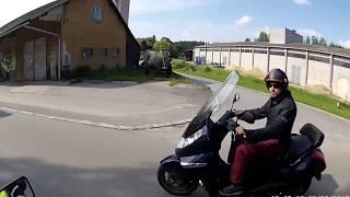 preview picture of video 'Honda CBF sraz 2013 Bítov'