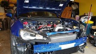 Scion FRS Jackson Racing C38 supercharged - hmong video