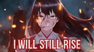【Nightcore】→ Rise (cover) || Lyrics