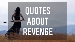 7 Quotes About Revenge From YA Books