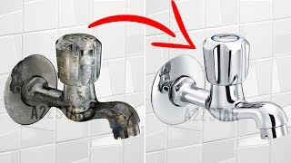 Clean Bathroom Taps | How To Do Home Easy Tap Cleaning Routine Tips And Tricks
