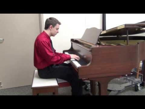Mozart Sonata No. 18 in D major, I. Allegro (Josiah Sprankle)