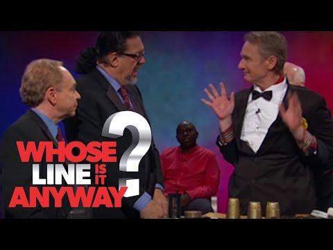 Náhradní ruce: Penn a Teller - Whose Line Is It Anyway?