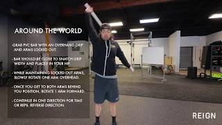 PVC Shoulder Warmup Routine To Utilize Before Training