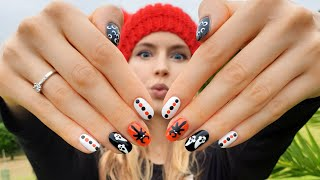 Halloween Nail Art! 12 Nail Designs For Beginners!