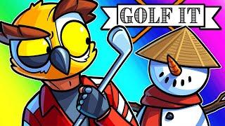 Golf It Funny Moments - Custom Made Maps!