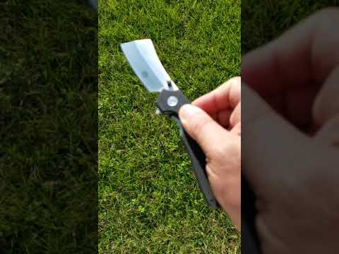 Off-Grid Knives OG-950 Cleaver Flipper Knife Review