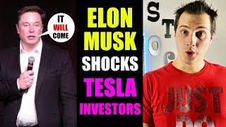 Elon Musk Shocks Tesla Investors