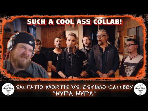 Saltatio Mortis vs. Eskimo Callboy 🇩🇪 - Hypa Hypa | AMERICAN RAPPER REACTION!