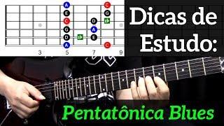 Como usar a Pentatônica Blues para solar na Guitarra