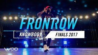 "Brandon ""Knowbody"" Greathouse | FrontRow | World of Dance Finals 2017 | #WODFINALS17"