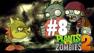 Plants Vs Zombies 2: It's About Time - Gameplay Walkthrough Part 8 - Coconut [iOS]