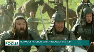 Filming of historical series 'The Kazakh Khanate'